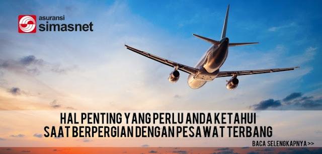 Berbagai Perlindungan Finansial Asuransi Penerbangan