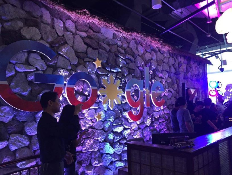 Google Philippines in BGC, Taguig lobby