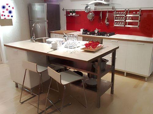 red kitchen home desgin ideas