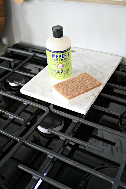 The BEST product for cleaning cooktops