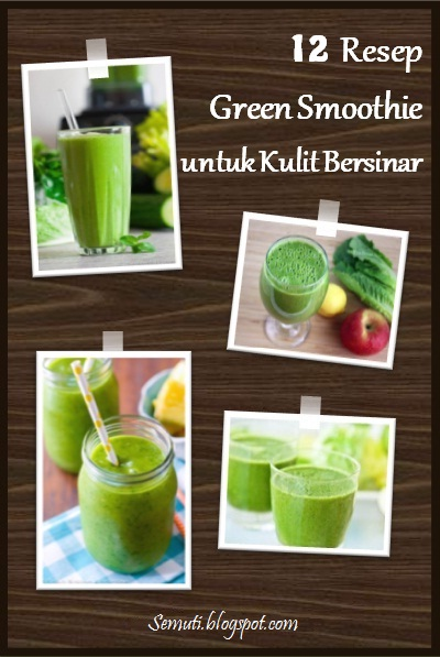 Sayuran hijau sebagai bahan utamanya kaya akan anti-oksidan, vitamin, dan mineral yang baik untuk kulit, dari mencegah keriput sampai menghalau kanker kulit. Tambahan buah-buahan menjadikan smoothie ini lezat dan menyegarkan.