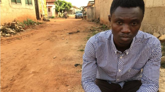 Ghanaian shoe seller vows to bring Yahya Jammeh to justice