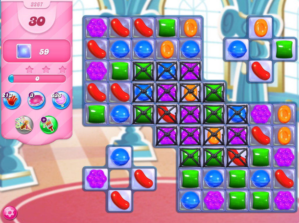 Candy Crush Saga level 3267