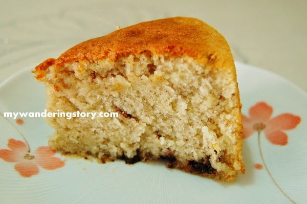 Cake Recipe Light And Fluffy: The Wanderer's Journal: Making Light And Fluffy Banana Cake
