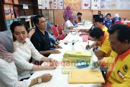 Baru Tiga Partai Mendaftarkan Bacalegnya di KPU Grobogan