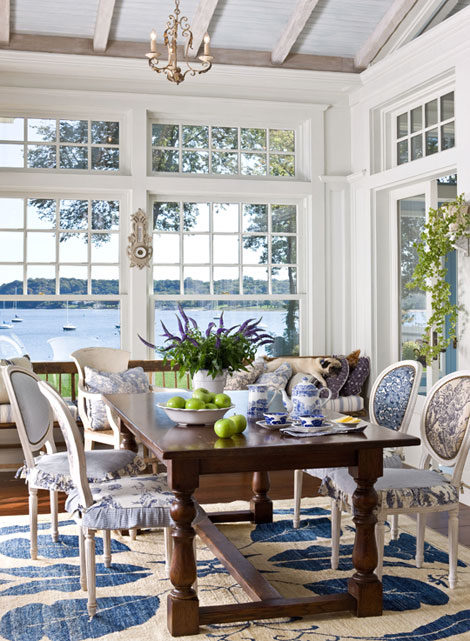 Hydrangea Hill Cottage Beautiful Banquettes
