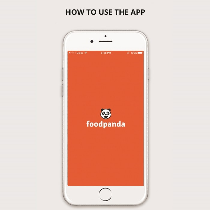 foodpanda - food delivery app in the Philippines