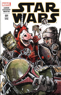 Deadpoolicorn Star Wars Comic
