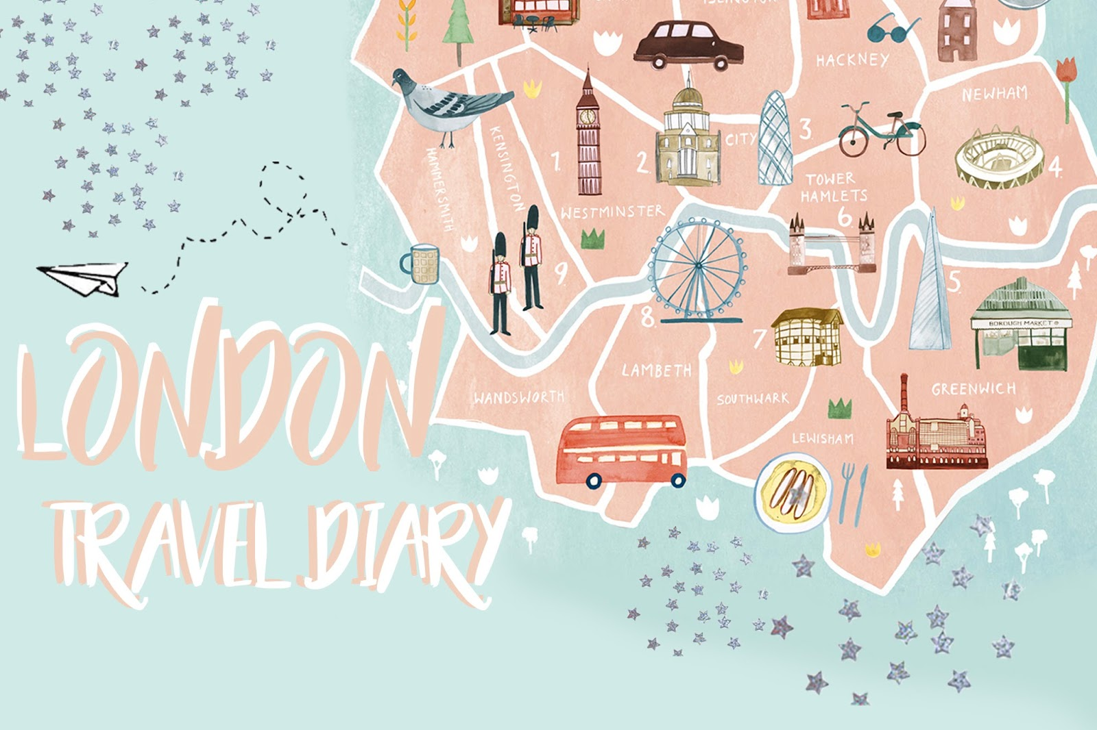 Travel Diary: London, ...