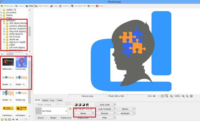 Cara Mengecilkan Ukuran Foto Menggunakan PhotoScape