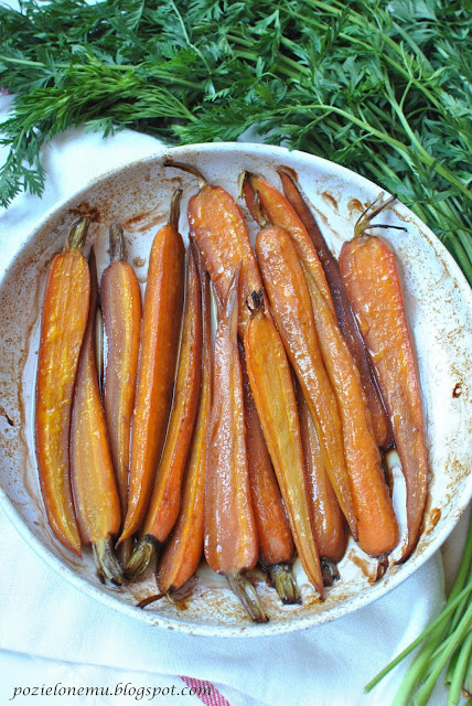 karmelizowana marchewka
