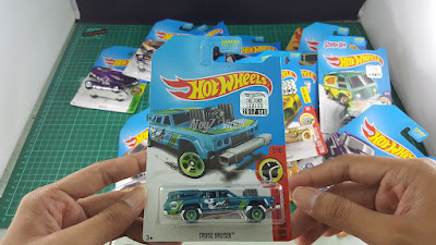 Hot Wheels Super Treasure Hunt Cruise Bruiser