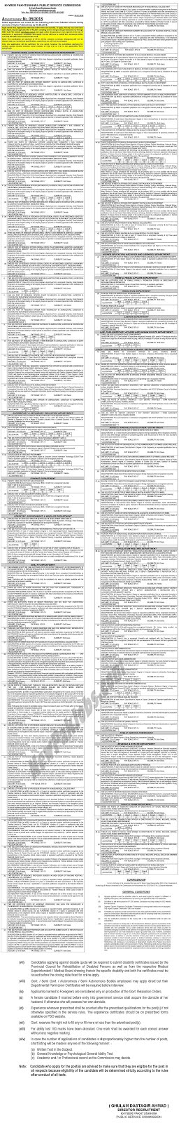 KPPSC Jobs Advertisement