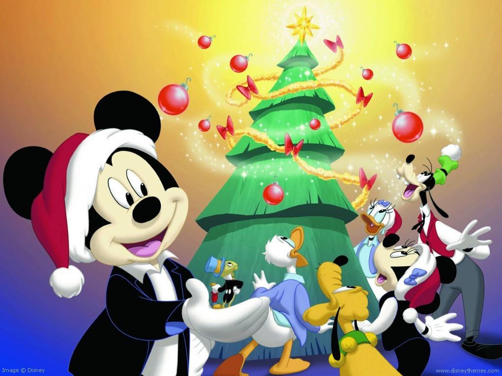 Disney Merry Christmas Cartoon Wallpapers
