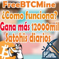 freebtcmine, ¿como funciona?, gana bitcoins gratis con freebtcmine 2018