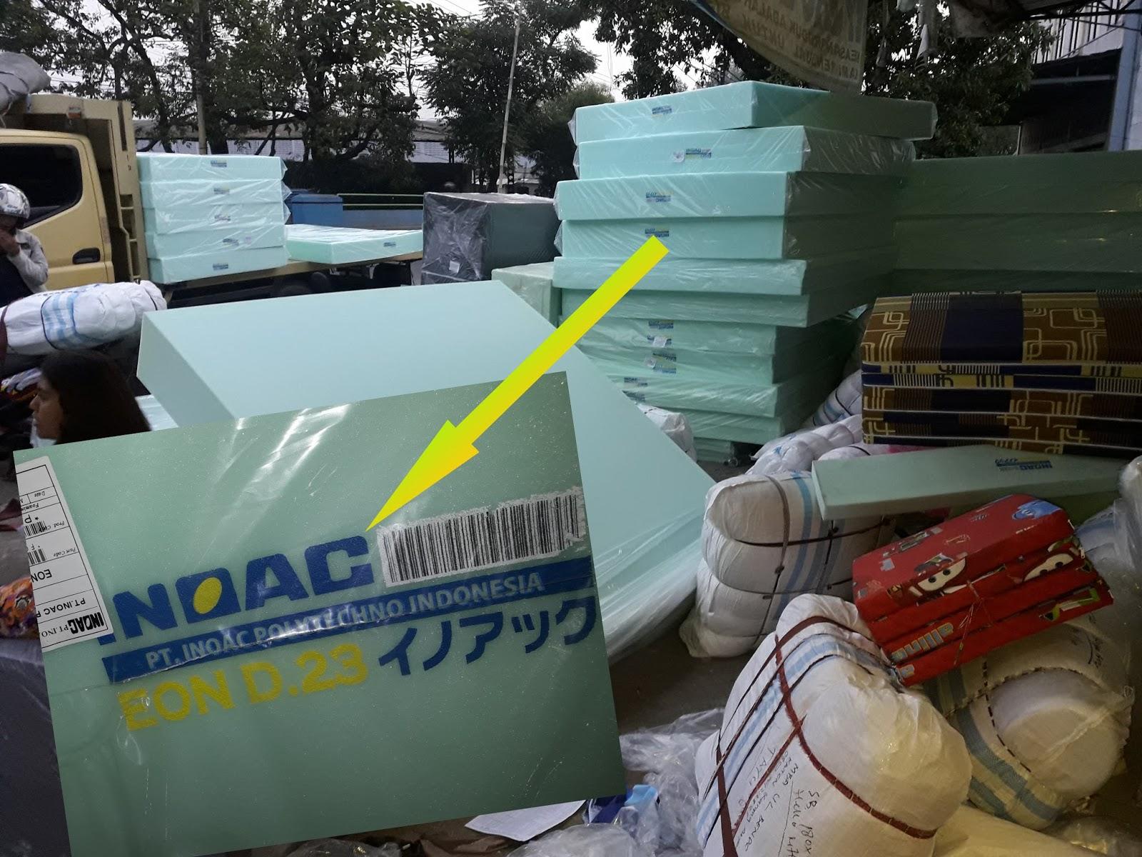 Harga Sofa Bed Inoac 2017 Country Cottage Throws Kasur 2018 Distributor Dan Agen Resmi