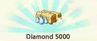 trik mudah dapat 5000 Diamond Line Let's Get Rich LGR