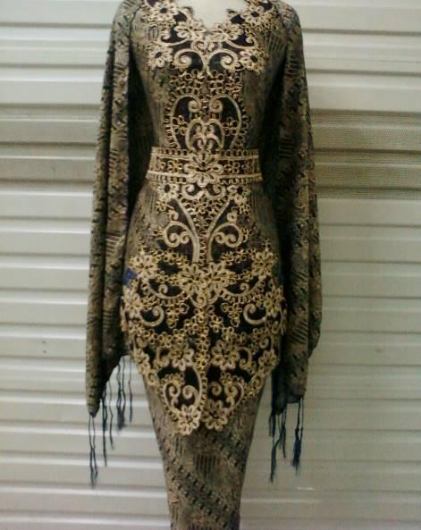 model kebaya batik pernikahan