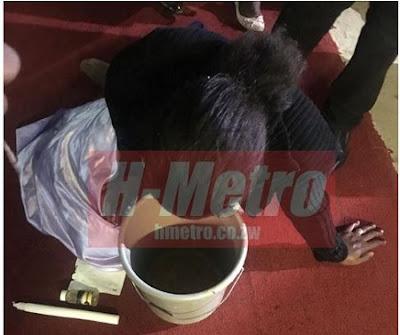 Drama as Woman Vomits Money in Church