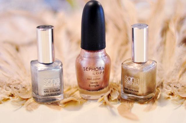 metallic nail polishes