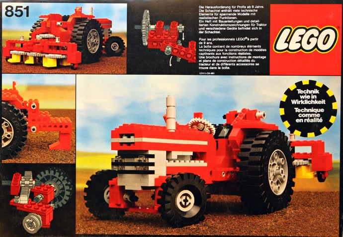 Gimme Lego Favourite Sets 6 Tractor