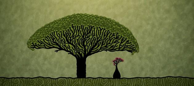 Красивая . здоровая и долгая жизнь.  Дерево счастья, здоровья и долголетия.