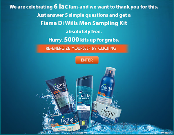 Fiama Di Wills Men sampling kit