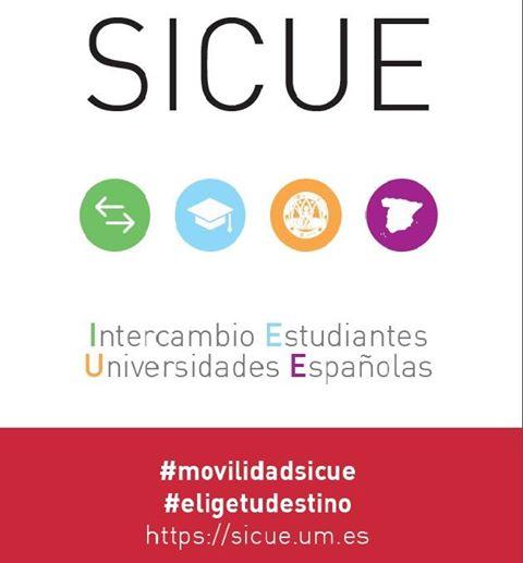Sesiones Informativas SICUE 2017/2018.