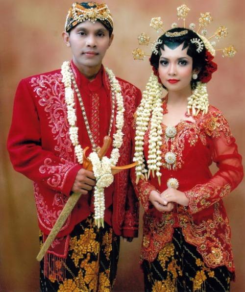 baju pengantin adat Jawa Barat