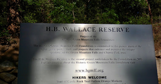 Wallace Reserve - Crystal Peak trail loop 7-18-18