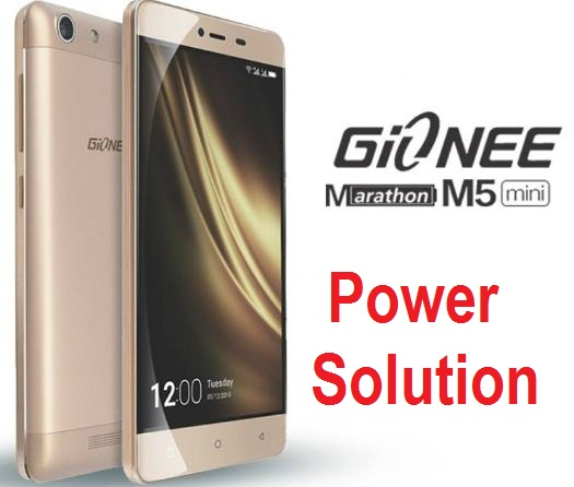 Gionee M5 mini, hot, discharges battery and power solution.