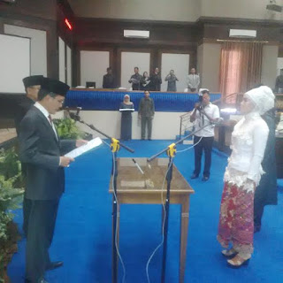 Mariyani Resmi Dilantik Menjadi Anggota DPRD