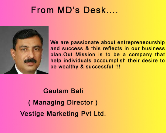 Vestige Marketing Pvt Ltd.