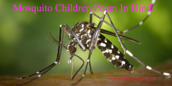 mosquito-children-poem-hindi