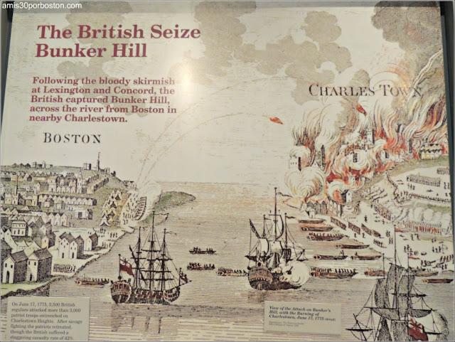 Reproducción del Asedio y la Batalla de Bunker Hill