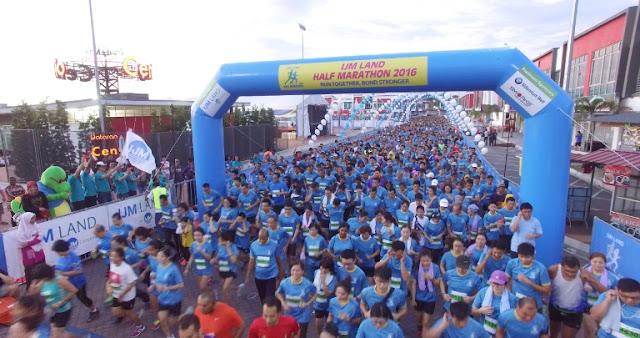 IJM Land Half Marathon 2016, Dataran centrio, Seremban 2,