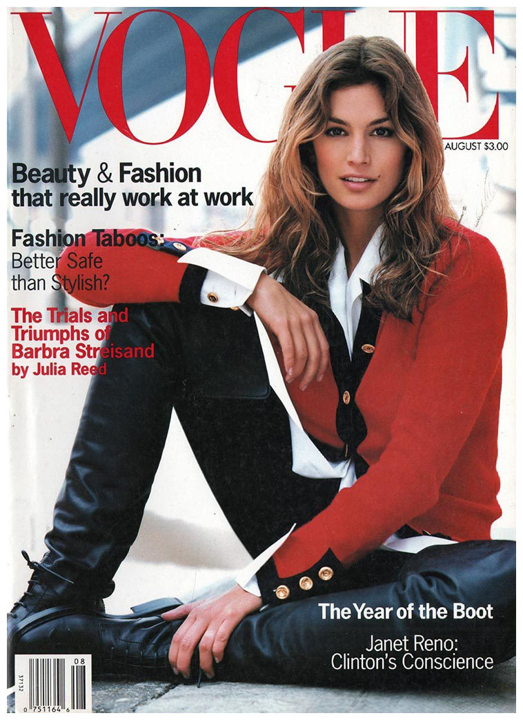 Vogue S Covers Gigi Hadid: Vogue's Covers: Cindy Crawford
