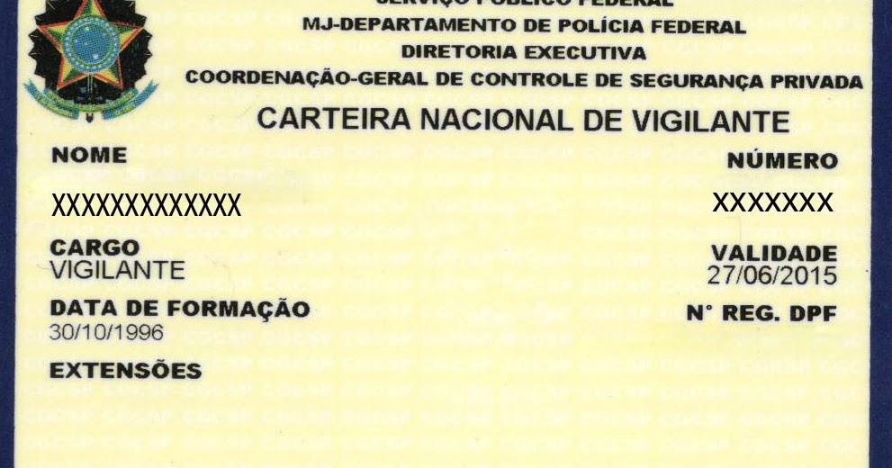 f340d9f1c Vigilante Patrimonial: CNV - tem novas regras e prazos e agora o próprio  Vigilante pode requerer o documento.