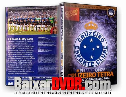 Cruzeiro Tetracampeão Brasileiro (2014) DVD-R