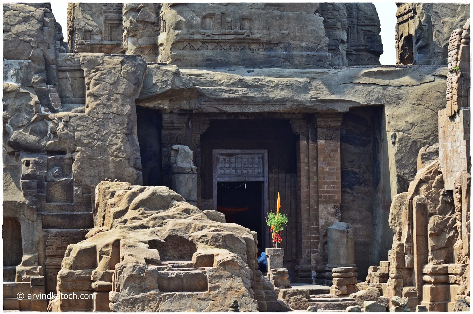 Masroo Rock Cut Temple, Masroor, Rock Cut Temples