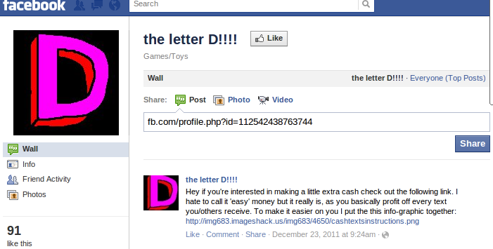Facebook Trick : Send Colorful Text in Chat box or messages  | Geek Dave