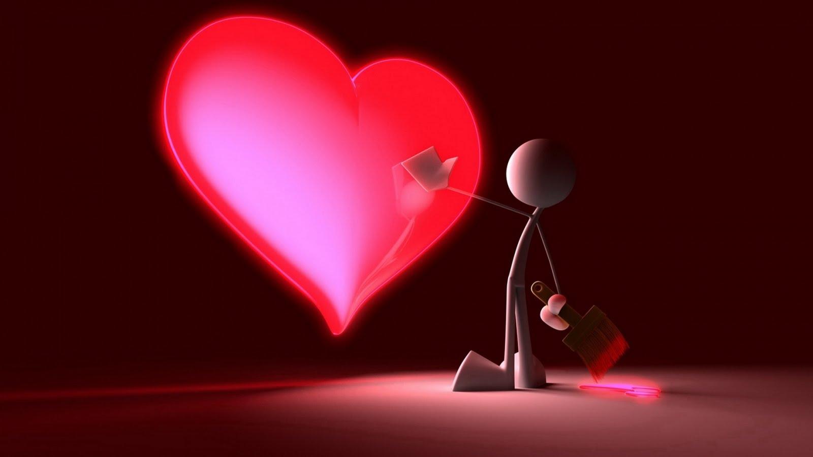 Lebe deine tr ume ich liebe dich bilder - Best heart wallpaper hd ...
