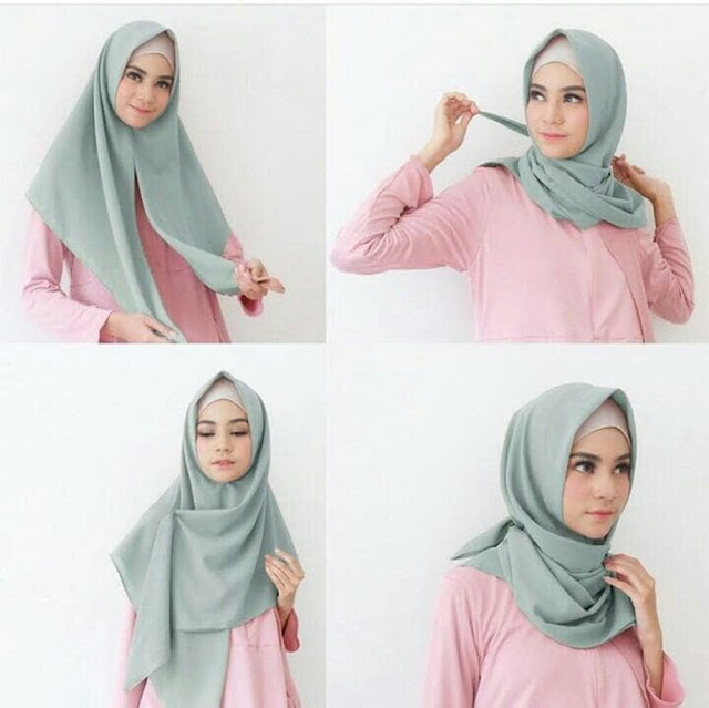 Cara Memakai Hijab Segitiga Mulai dari yang Simple, Santai Hingga yang Resmi