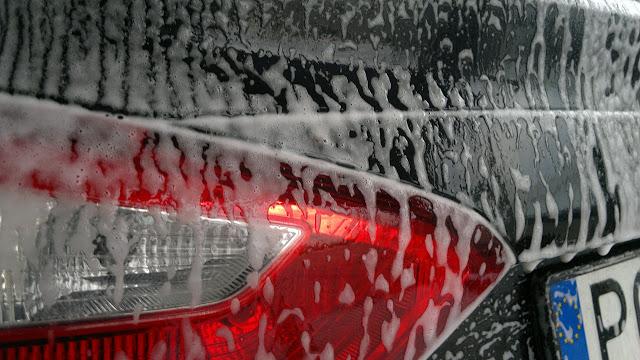 這陣子天氣多變化,經過日曬雨淋才終於再去找「旭昇專業汽車美容」做汽車美容+鍍膜