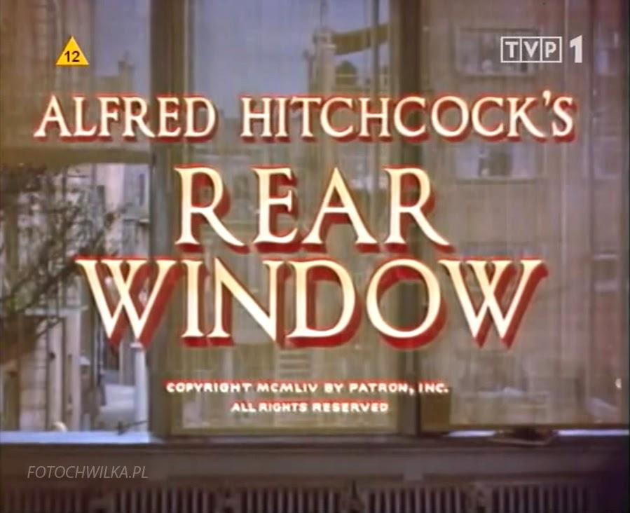 Okno na podwórze - Alfred Hitchcock. Film z Grace Kelly.