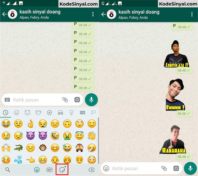 Cara Membuat Stiker WhatsApp dengan Foto Sendiri