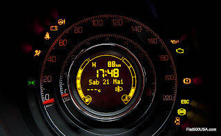 Fiat 500 Sport Instrument Panel