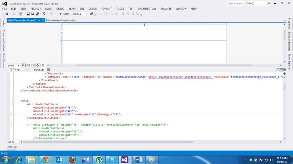 WPF Resolution Independent Form ~ Software Enginering Project