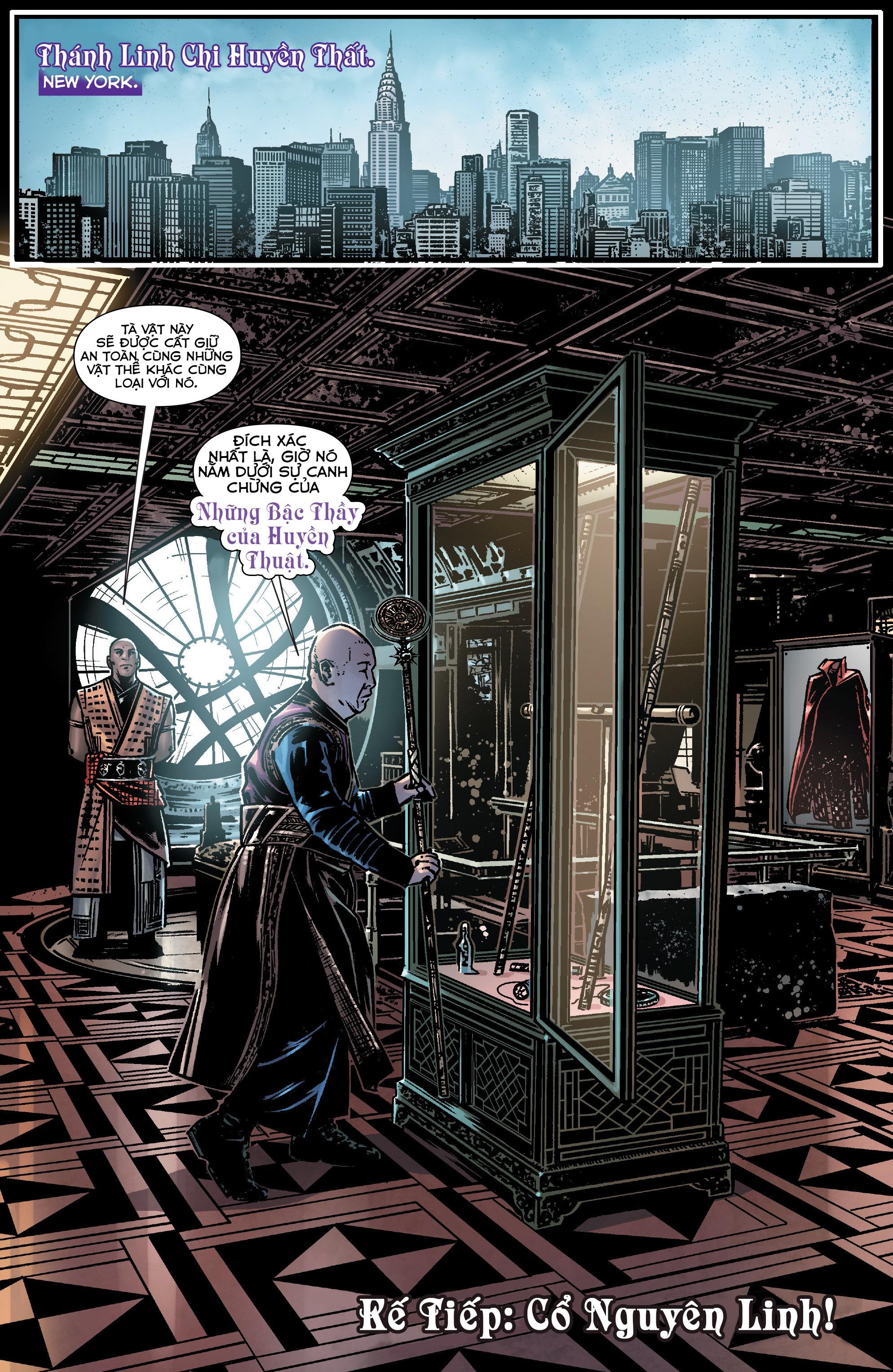 Doctor Strange Prelude kỳ 1 trang 19