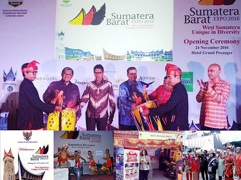 Sumbar Expo 2016 di Cikapundung River Spot Bandung